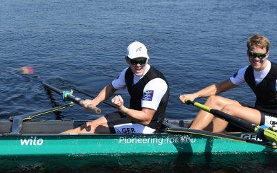 Im Ruderboot ist Schluss mit lustig