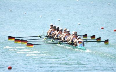 Deutschland-Achter: Vorlaufsieg in Luzern trotz Ausfall der Coxbox