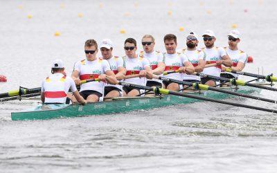 Deutschland-Achter fährt souverän ins EM-Finale