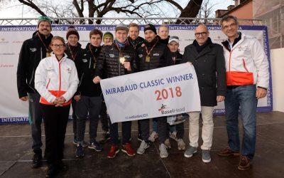 Deutschland-Achter verteidigt beide Titel in Basel