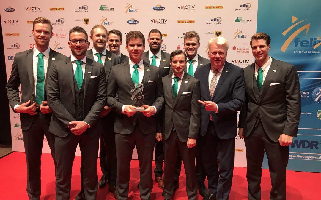 Deutschland-Achter gewinnt Felix-Award zum siebten Mal