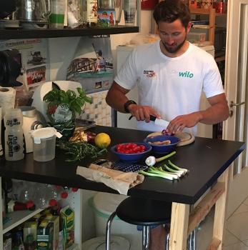 Planer und Wimberger optimieren ihre Ernährung