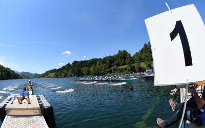 EM in Luzern: Achter und Vierer mit Siegen zum Auftakt
