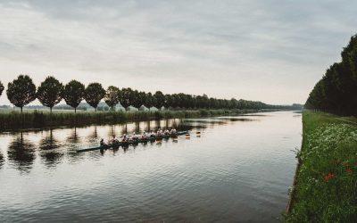 Deutschland-Achter als Europameister das gejagte Boot