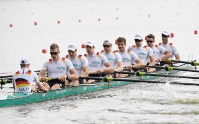 Deutschland-Achter fährt im Eiltempo ins Weltcup-Finale