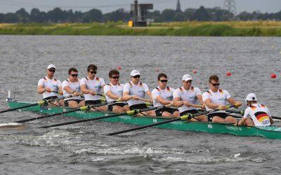Deutschland-Achter direkt im Finale – Zeitfahren in Rotterdam