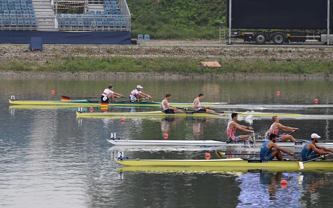 Gebauer/Schröder gewinnen C/D-Halbfinale bei der WM in Linz-Ottensheim