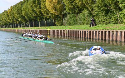Foto-Finish im Rennen gegen den 1LIVE-Achter
