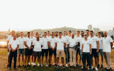 Team Deutschland-Achter startet in die Olympia-Saison