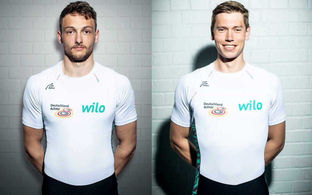 Korge und Roggensack stoßen zum Team Deutschland-Achter