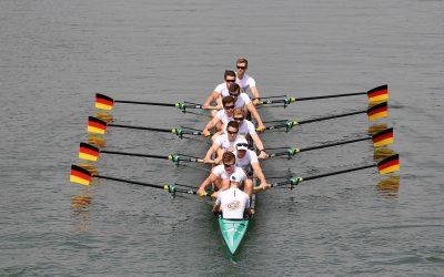 Acht Weltmeister und ein Neuling an Bord des Flaggschiffs