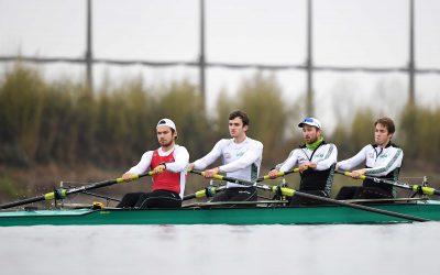 Ein Vierer und ein Zweier mit Olympia-Chancen