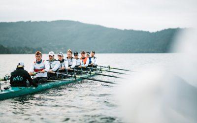 EM-Vorbereitung in Lago Azul