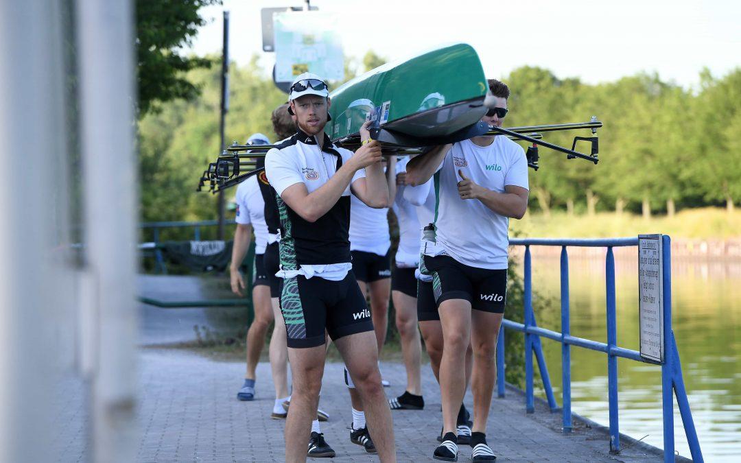 Team Deutschland-Achter legt mit vollen Kräften wieder los