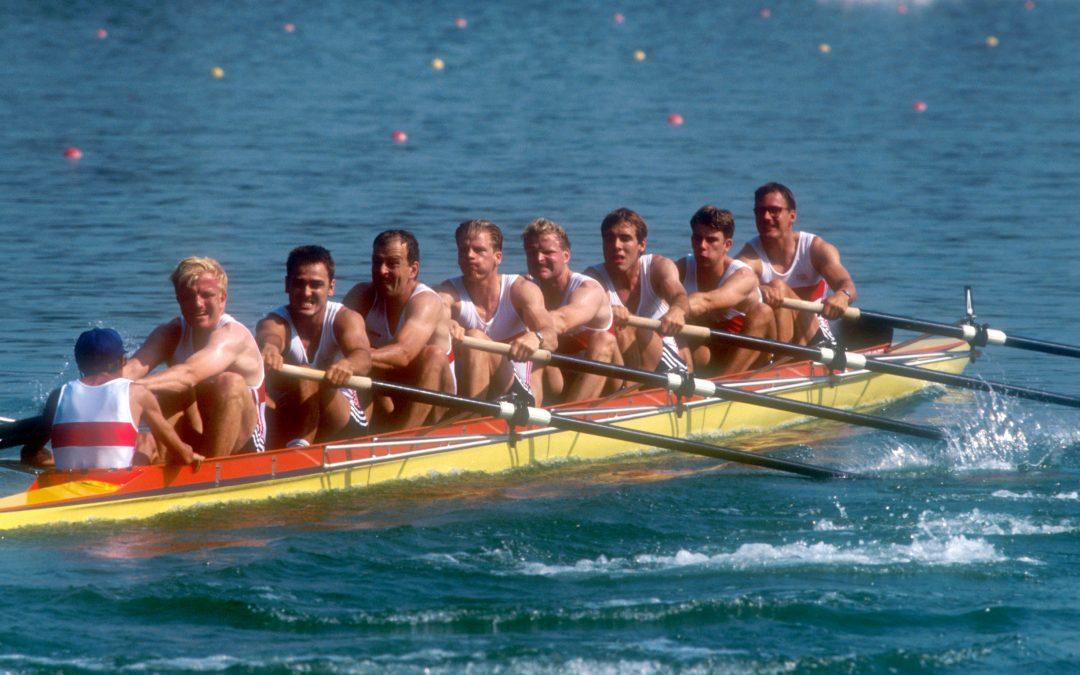 Olympia 1992: Der erste gesamtdeutsche Achter