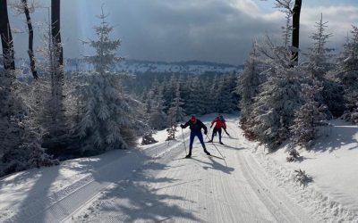 Ausflug zum Skilanglauf sorgt für Abwechslung