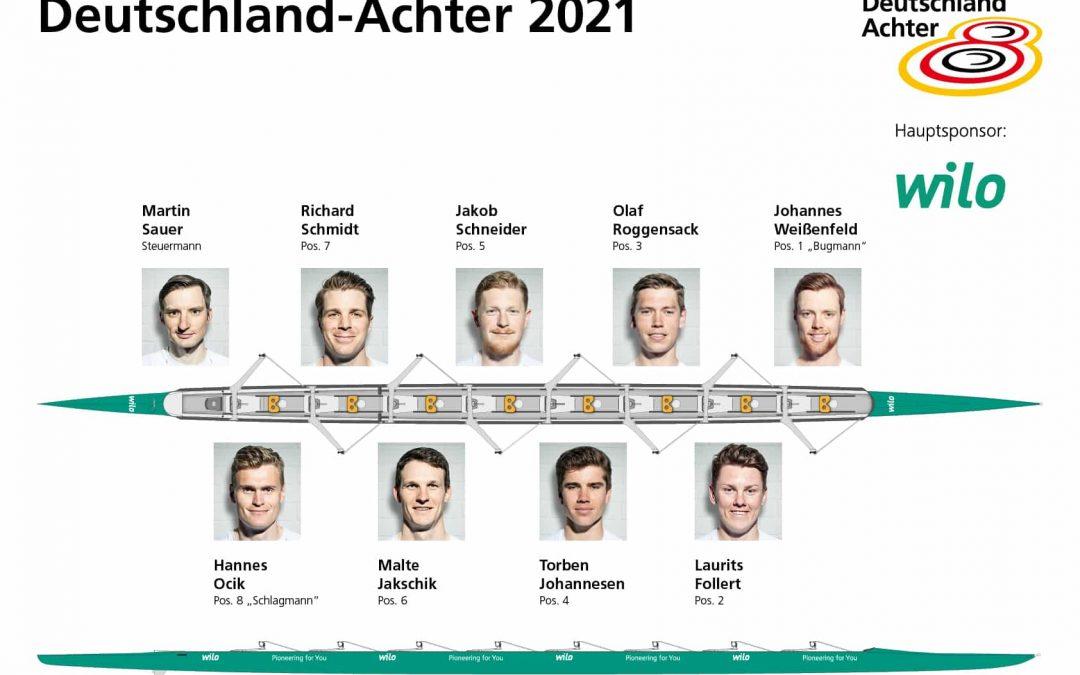 Team Deutschland-Achter startet hochmotiviert in die Olympia-Saison