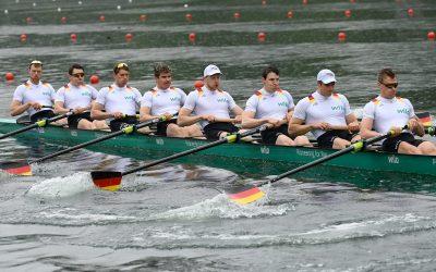 Deutschland-Achter meldet sich mit Sieg zurück