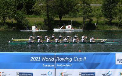 """""""Wieder auf Augenhöhe"""" – 3 Hundertstelsekunden fehlen im packenden Rotsee-Finale"""
