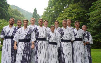 Deutschland-Achter reist von Kinosaki nach Tokio
